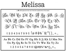 Melissa Personalized Self-inking Round Return Address Design Fonts