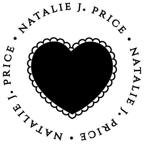 Fancy Heart Stamp