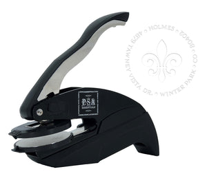 Fleur de Lis Return Address Embosser