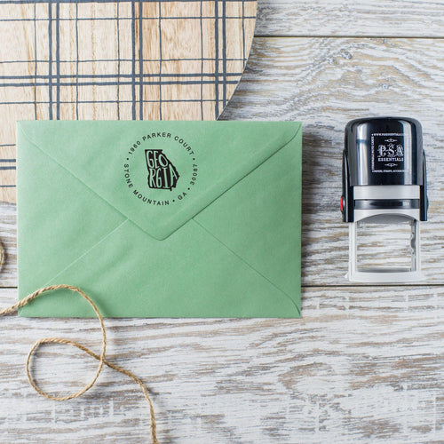 State Return Address Stamp - PSA Essentials