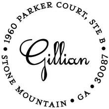 Gillian Return Address Self Inking Stamp