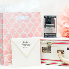 Personalized Stamp Gift Box
