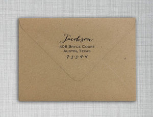 Jacobson Self Inking Return Address Stamp
