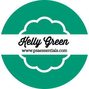Kelly Green Ink Pad Cartridge Round