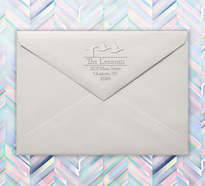 Lennon Return Address Embosser