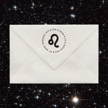 Zodiac Sign Return Address Stamps