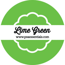Lime Green Ink Pad Cartridge Round