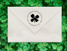 Lucky Charm Return Address Stamp