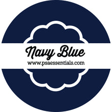 Navy Blue Ink Pad Cartridge Round