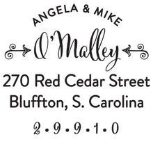OMalley Return Address Self Inking Stamp