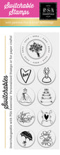 PSA Essentials Bouquet Toss Switchable Craft Stamp Pack