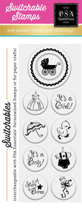PSA Essentials Carriage Switchable Craft Stamp Pack