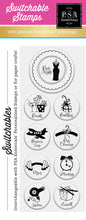 PSA Essentials Date Night Switchable Craft Stamp Pack