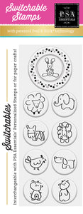 PSA Essentials Little Bunny Switchable Craft Stamp Pack