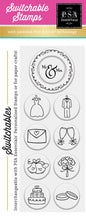 PSA Essentials <r & Mrs Switchable Craft Stamp Pack