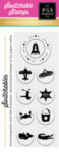 PSA Essentials Rocket Switchable Craft Stamp Pack