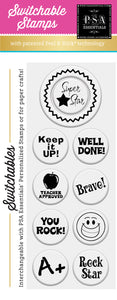 PSA Essentials Super Star Switchable Craft Stamp Pack