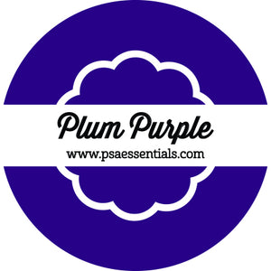 Plum Purple Ink Pad Cartridge Round