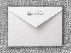 Ravenwood Rectangle Personalized Self Inking Return Address Stamp
