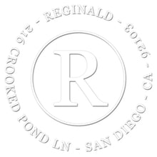 Reginald Return Address Embosser
