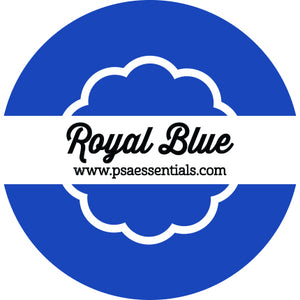 Royal Blue Ink Pad Cartridge Round