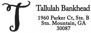 Tallulah Personalized Self Inking Return Address Stamp