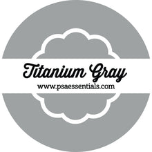 Titanium Gray Ink Pad Cartridge Round