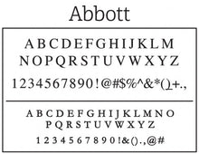 Kelly Hughes Designer Personalized Return Address Font
