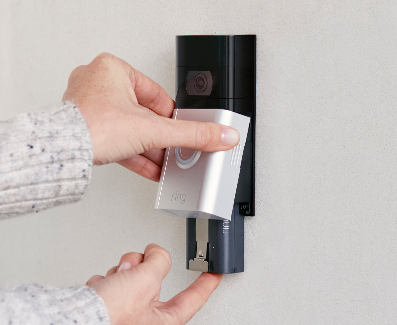 Ring Video Doorbell 3 with battery pack