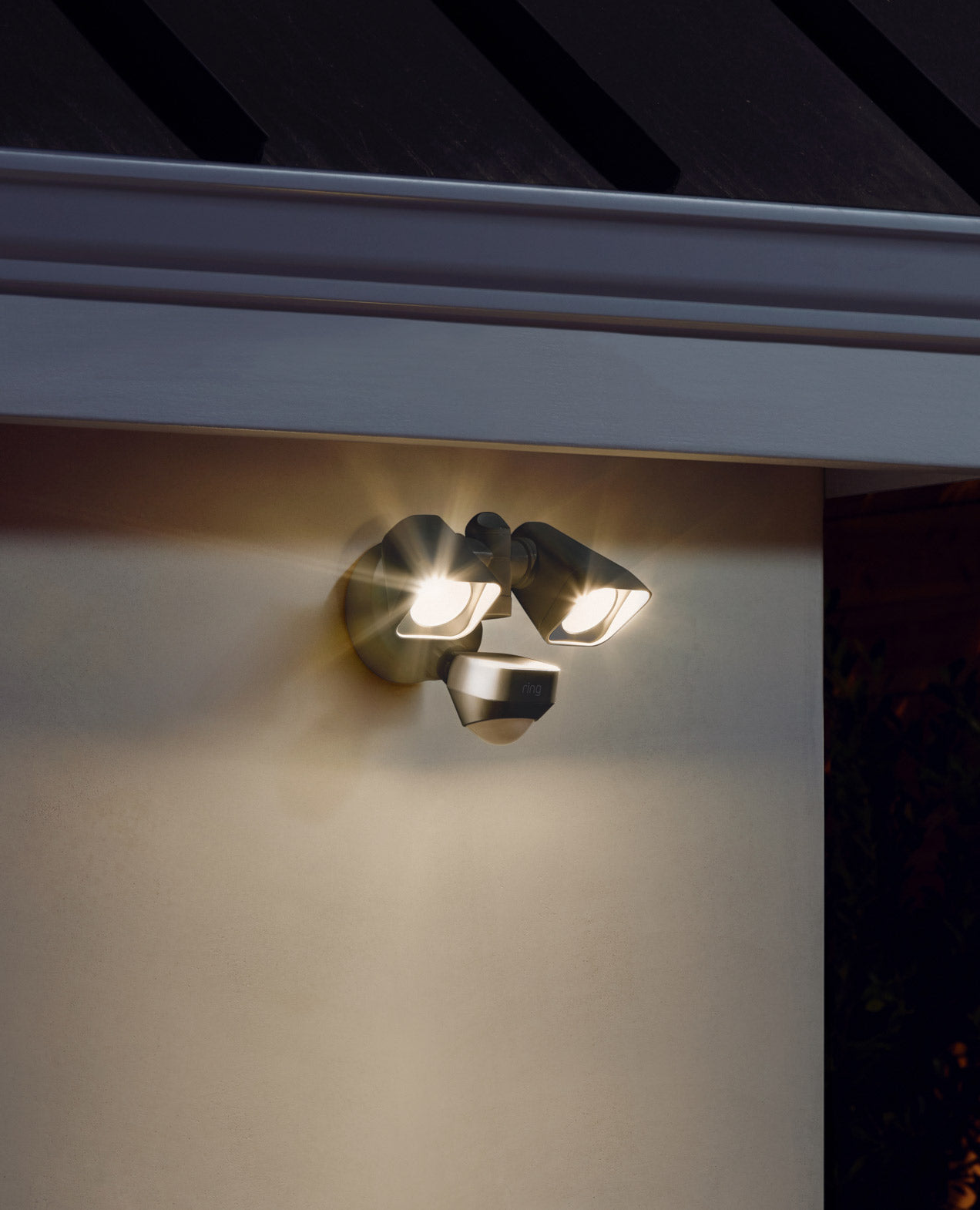 Security lighting above the rest.