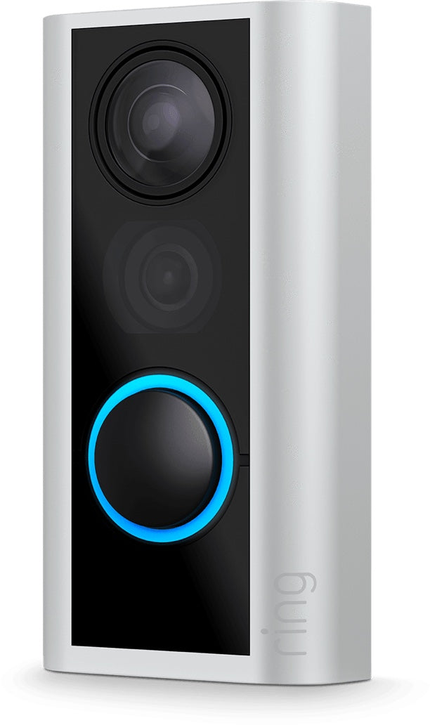 Wireless Peephole Cam is perfect for renters & is easy to install.