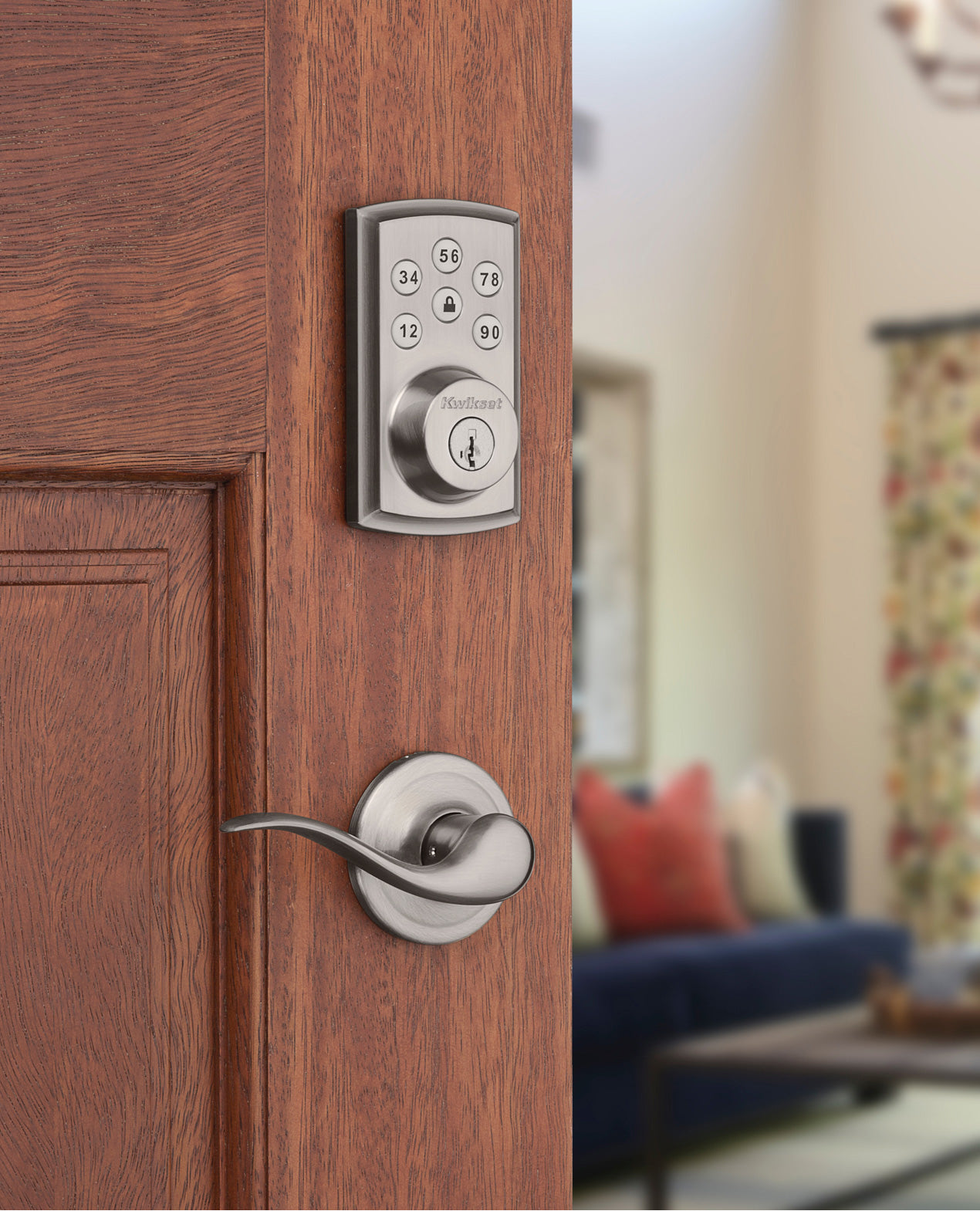 A smart deadbolt without dead weight.