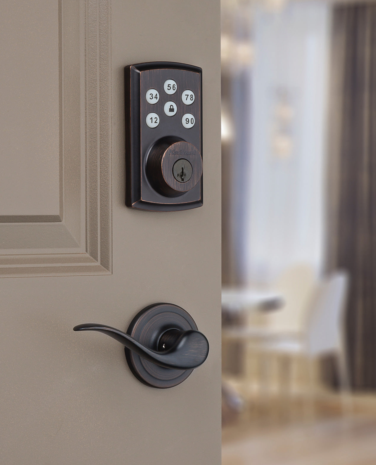 Your smart home deserves a smart lock.