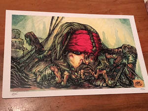 The Worst Pirate Print by TOK