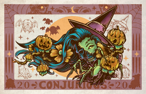 Conjurious Halloween Exclusive Print by TOK