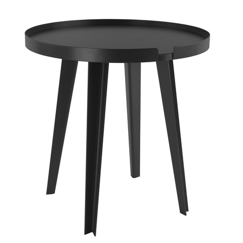 Side Table IVRESSE Round Black