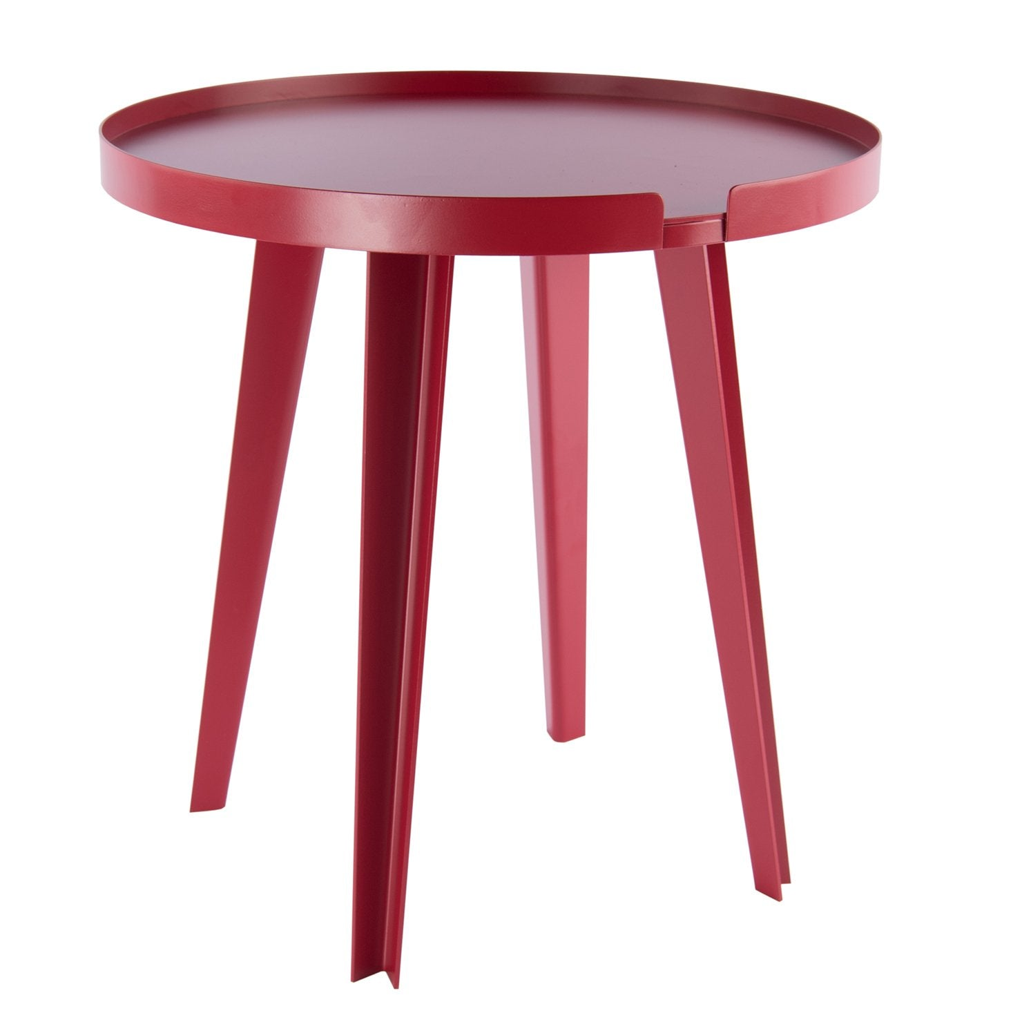 Side Table IVRESSE Round Red