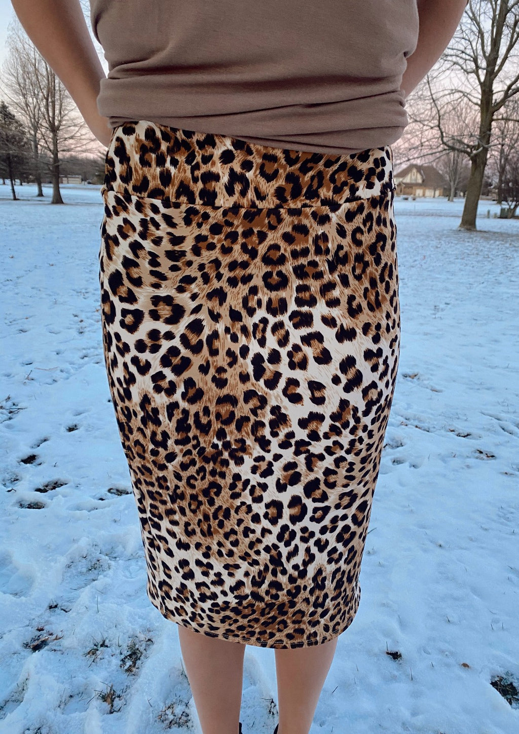 Cheetah #2 MD Skirt