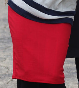 Red MD Pencil Skirt