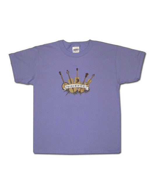 Kid's Instrument on Lavender Tee