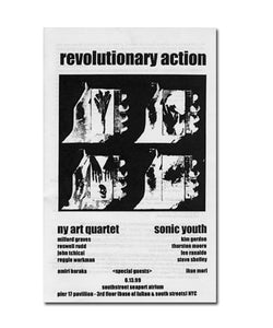 "Sonic Youth ""Revolutionary Action"" Booklet"