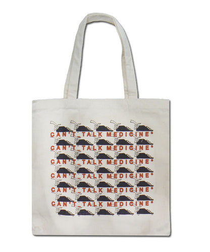 Pickwick Can't Talk Medicine Tote