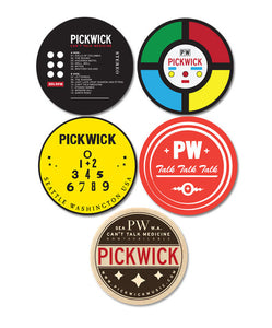 Pickwick 5 Coaster Set