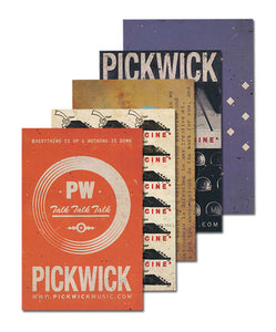 Pickwick 5 Postcard Set