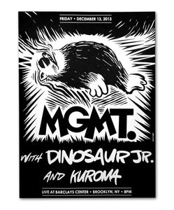 MGMT Carr New York '13 Poster