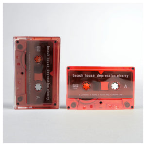 Beach House Depression Cherry Cassette Tape