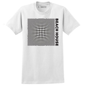 White Op-Art S-S T-shirt