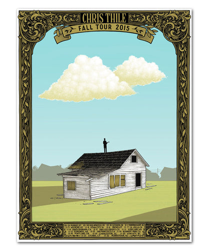 Chris Thile 2015 Fall Tour Poster