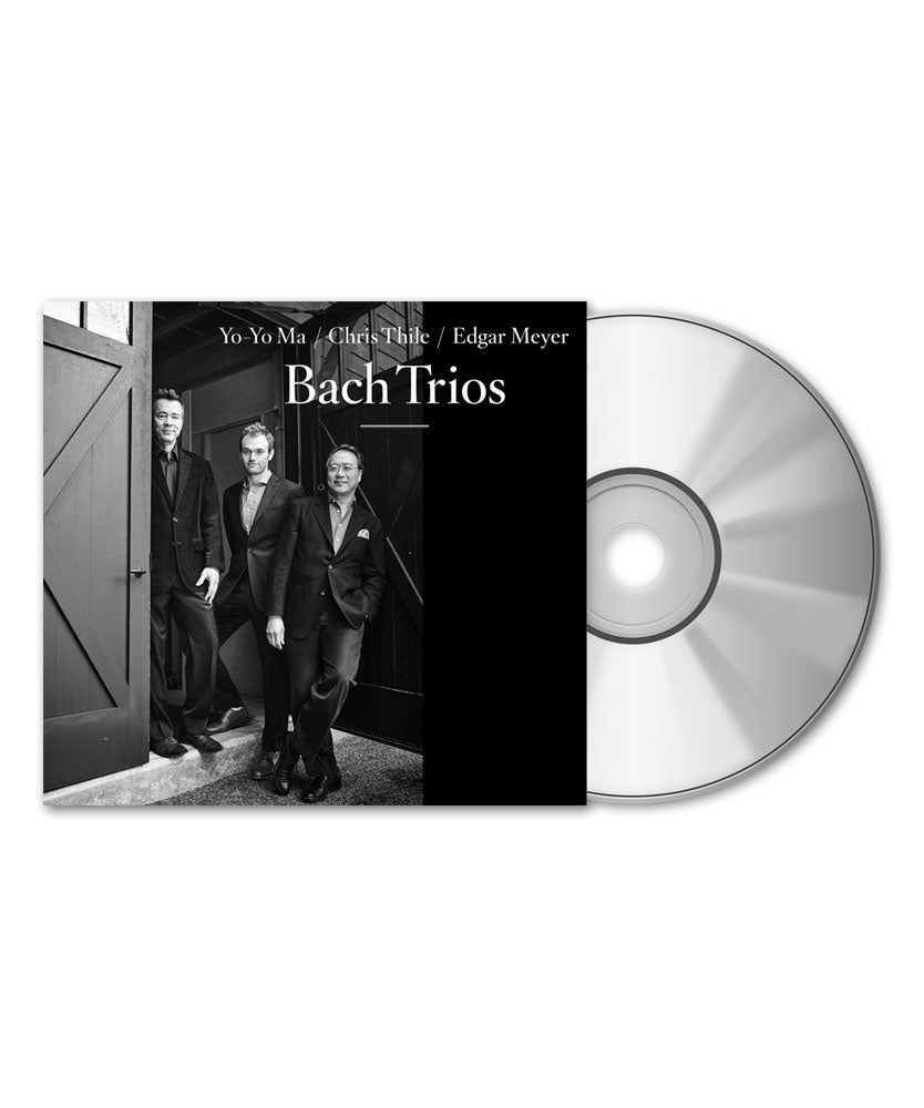 Yo-Yo Ma, Chris Thile & Edgar Meyer Bach Trios CD