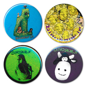 Dinosaur Jr. 4 Button Pack